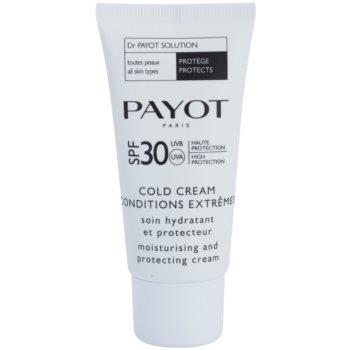 Payot Dr. Payot Solution crema idratante e protettiva SPF 30 (Cold Cream) 50 ml