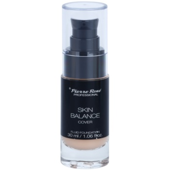 Pierre René Face Skin Balance fondotinta liquido waterproof per un effetto lunga durata colore 21 Porcelain 30 ml