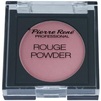 Pierre René Face blush e ombretti in uno colore 01 Soft Rouge (Hypoallergenic) 6 g