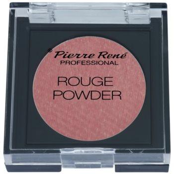 Pierre René Face blush e ombretti in uno colore 02 Pink Fog (Hypoallergenic) 6 g