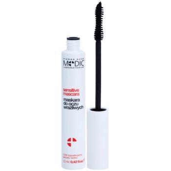 Pierre René Medic Laboratorium mascara alla keratina per occhi sensibili colore Black (Paraben & Silicone Free, Hypoallergenic) 8 ml