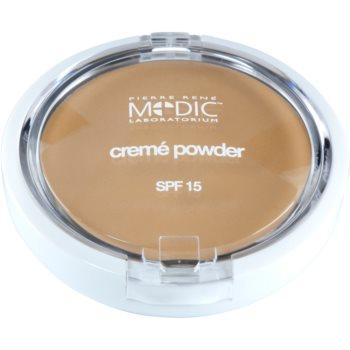Pierre René Medic Laboratorium cipria in crema con specchietto e applicatore SPF 15 colore 03 Natural (Waterproof) 7 g