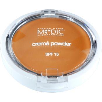 Pierre René Medic Laboratorium cipria in crema con specchietto e applicatore SPF 15 colore 04 Beige (Waterproof) 7 g