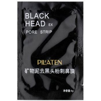 Pilaten Black Head maschera nera peel-off (Black Head Remover) 6 g