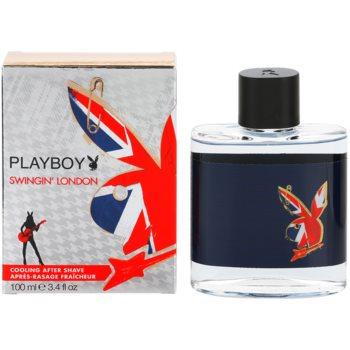 Playboy London lozione post-rasatura per uomo 100 ml