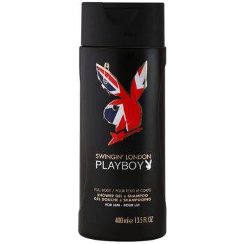 Playboy London gel doccia per uomo 400 ml