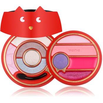 Pupa PupaCat 3 Red palette per viso completo colore 012 12,1 g