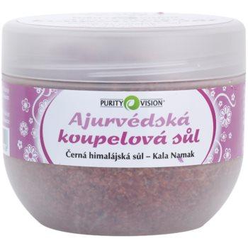 Purity Vision Kala Namak Sale da bagno ayurvedico (Bath Salt) 500 g