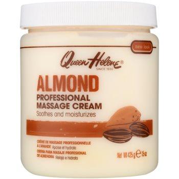 Queen Helene Almond crema per massaggi per viso e corpo (Professional Massage Cream) 425 g