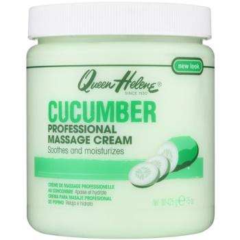 Queen Helene Cucumber crema per massaggi per viso e corpo (Professional Massage Cream) 425 g