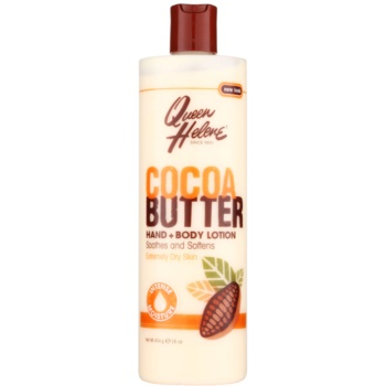 Queen Helene Cocoa Butter crema per mani e corpo (Soothes and Softens, Extremely Dry Skin) 454 g