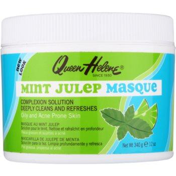 Queen Helene Mint Julep maschera per pelli grasse con tendenza all'acne (Oily and Acne Prone Skin) 340 g