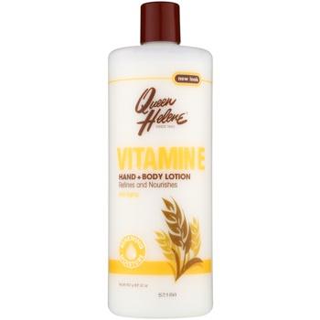 Queen Helene Vitamin E latte per mani e corpo (Refines and Nourishes) 907 g