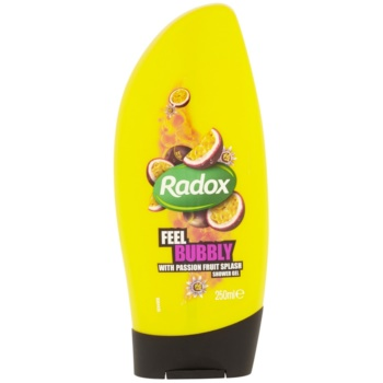 Radox Feel Gorgeous Feel Bubbly gel doccia Passion Fruit Splash 250 ml
