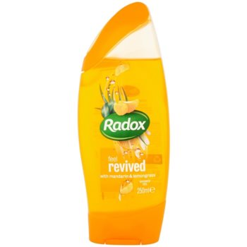 Radox Feel Refreshed Feel Revived gel doccia Mandarin & Lemongrass 250 ml