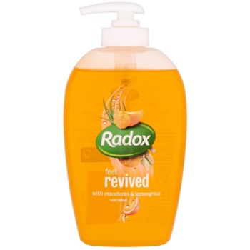 Radox Feel Fresh Feel Revived sapone liquido per le mani Mandarin & Lemongrass 250 ml