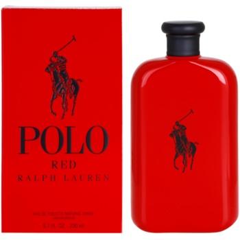 Ralph Lauren Polo Red eau de toilette per uomo 200 ml