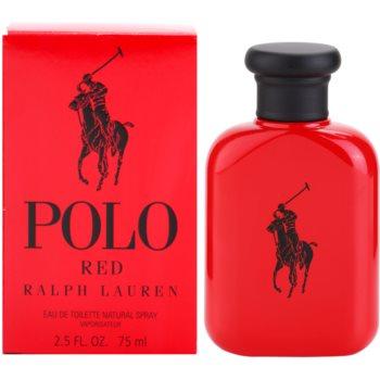 Ralph Lauren Polo Red eau de toilette per uomo 75 ml