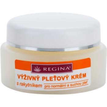 Regina Sea Buckthorn crema nutriente per pelli normali e secche (Seabuckthorn Oil - Vitamins - D-Panthenol) 45 g