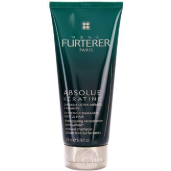 Rene Furterer Absolue Kératine shampoo rigenerante per capelli molto rovinati (Sulfate-Free Surfactants) 200 ml