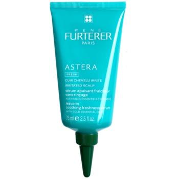 Rene Furterer Astera siero lenitivo per cuoi capelluti irritati (Leave-in Soothing Freshness Serum with Cold Essential Oils, Irritated Scalp) 75 ml