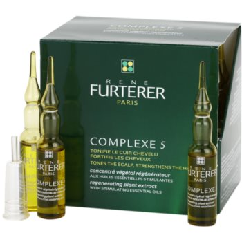 Rene Furterer Complexe 5 trattamento rigenerante (Regenerating Plant Extract) 24 x 5 ml