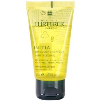 Rene Furterer Initia gel doccia per corpo e capelli (Toning Shower Gel - Body and Hair - Soap Free, PH Balanced) 50 ml