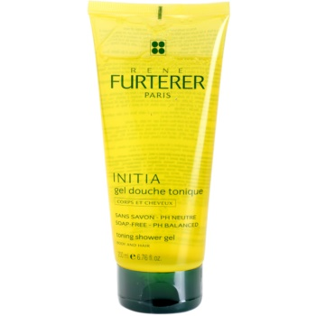 Rene Furterer Initia gel doccia per corpo e capelli (Toning Shower Gel – Body and Hair – Soap Free, PH Balanced) 200 ml