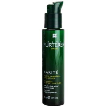 Rene Furterer Karité siero senza risciacquo per capelli rovinati e secchi (Leave-in Repairing Serum) 30 ml