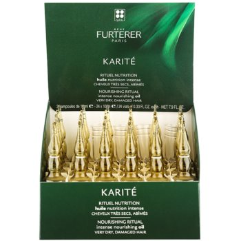 Rene Furterer Karité olio per capelli rovinati e secchi (Intense Nourishing Oil) 24 x 10 ml