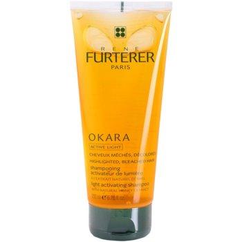 Rene Furterer Okara Active Light shampoo per capelli biondi (Light Activating Shampoo) 200 ml