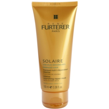 Rene Furterer Solaire maschera nutriente intensa per capelli affaticati da cloro, sole e acqua salata (With Jojoba Wax) 100 ml