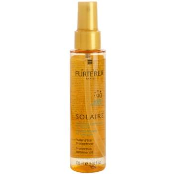 Rene Furterer Solaire olio protettivo per capelli affaticati da cloro, sole e acqua salata (Shiny Effect) 100 ml