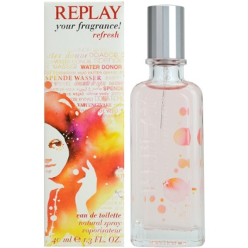 Replay Your Fragrance! Refresh For Her eau de toilette per donna 40 ml