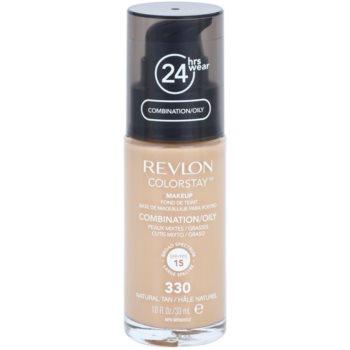 Revlon Cosmetics ColorStay™ fondotinta opacizzante lunga tenuta SPF 15 colore 330 Natural Tan 30 ml