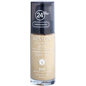 Revlon Cosmetics ColorStay™ fondotinta opacizzante lunga tenuta SPF 15 colore 350 Rich Tan 30 ml