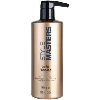 Revlon Professional Style Masters shampoo per capelli mossi (Curly Shampoo) 400 ml