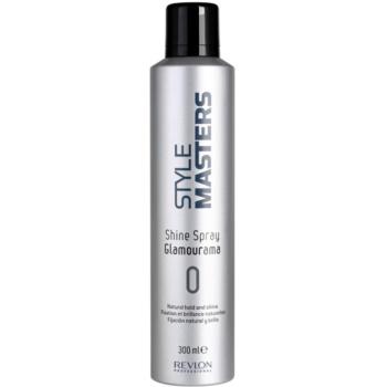 Revlon Professional Style Masters spray per un fissaggio e una brillantezza naturali dei capelli (Shine Spray Glamourama) 300 ml