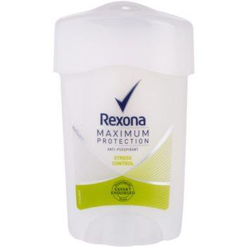 Rexona Maximum Protection Stress Control antitraspirante in crema 48 ore 45 ml