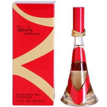 Rihanna Rebelle eau de parfum per donna 50 ml