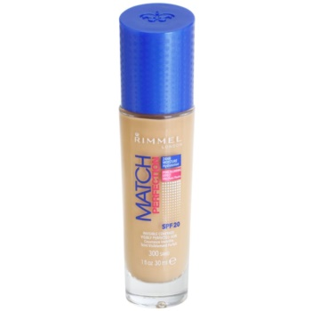 Rimmel Match Perfection fondotinta liquido SPF 20 colore 300 Sand 30 ml