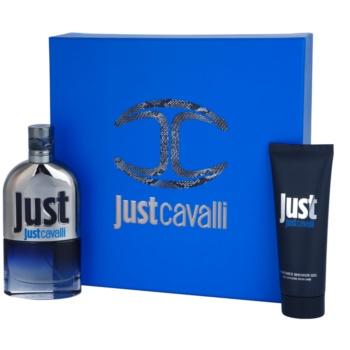 Roberto Cavalli Just Cavalli Him 2013 kit regalo I eau de toilette 90 ml + gel doccia 75 ml