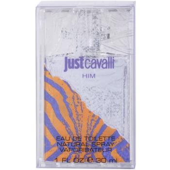 Roberto Cavalli Just Cavalli Him eau de toilette per uomo 30 ml