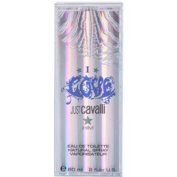 Roberto Cavalli Just Cavalli I Love Him eau de toilette per uomo 60 ml