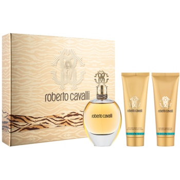 Roberto Cavalli Roberto Cavalli for women kit regalo I eau de parfum 75 ml + latte corpo 75 ml + gel doccia 75 ml