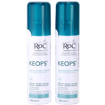 RoC Keops deodorante spray 48 ore (Fresh Spray Deodorant) 2 x 100 ml