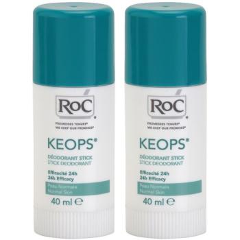 RoC Keops deodorante solido 24h (Stick Deodorant) 2x40 ml