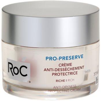 RoC Pro-Preserve crema protettiva per pelli secche (Anti-Dryness Protecting Cream Rich) 50 ml