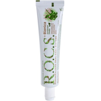 R.O.C.S. Bionica Green Wave dentifricio naturale per gengive sensibili (Fluoride Free, Natural Protection) 60 ml