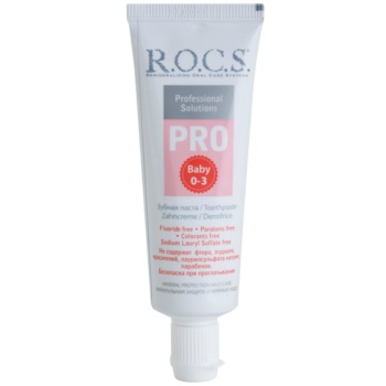 R.O.C.S. PRO Baby dentifricio per bambini (0 – 3 Years, Mineral Protection Mild Care) 35 ml
